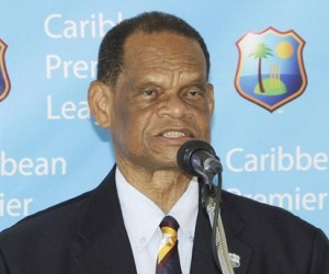 Former president of the West Indies Cricket Board, Dr. The Honourable Julian Robert Hunte