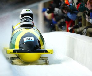 The Jamaican Bobsledders of 2014.