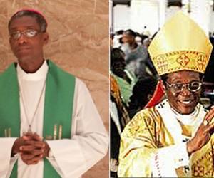 Haiti Bishop, Chibly Langlois and Dominica-born Saint Lucia, Archbishop emeritus of Castries, Monsignor Kelvin Edward Felix