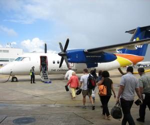 Regional airline LIAT.