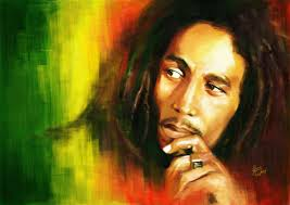 The late great Bob Marley.