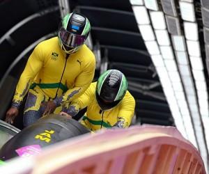 Jamaican bobsleigh team 2014
