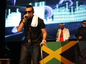 Sean Paul performing in Bangalore recently.