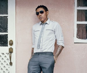Jamaican dancehall star, Vybz Kartel.