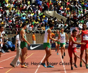 The USA won the World Men Distance Medley