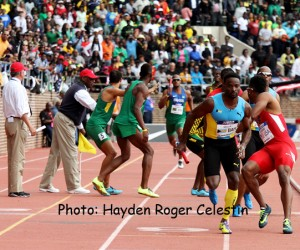 The Bahamas on Fire At Penn Relays
