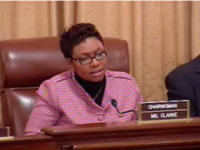 Caribbean American Congresswoman, Yvette D. Clarke