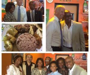Vice President Biden at the Island Restaurant
