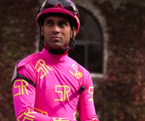Jamaican-jockey-Shaun Bridgmohan