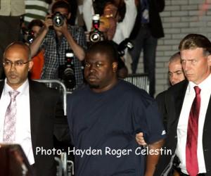 Accused murderer Daniel St. Hubert. (Hayden Roger Celestin image)
