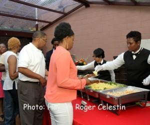 Guest at Caribbean Restaurant Week launch 2014. (Hayden Roger Celestin image)