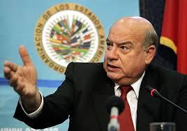 OAS Secretary General José Miguel Insulza.