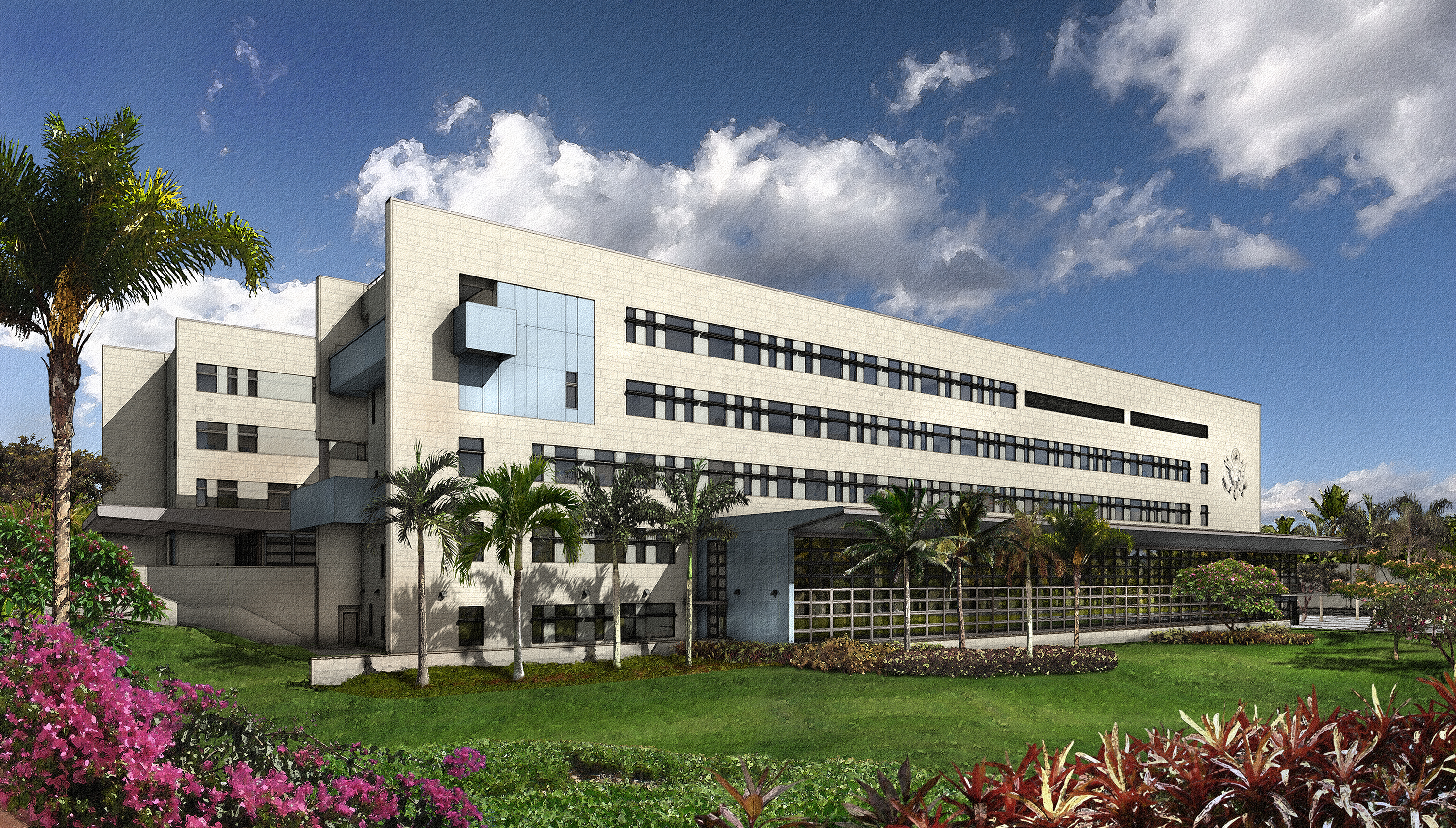 Santo Domingo Dominican Republic  city images : New US Embassy opens in Santo Domingo, Dominican Republic | Caribbean ...