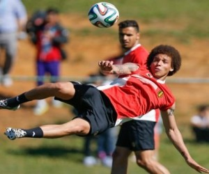 Axel Witsel during the 2014 FIFA World Cup on June, 2014.  w