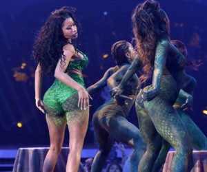 Minaj performs onstage during the 2014 MTV Video Music Awards at The Forum on August 24, 2014 in Inglewood, California.