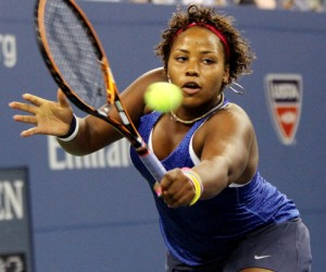 Taylor Townsend at the U.S. Open on Aug. 26, 2014.