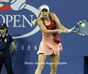 Caroline Wozniacki makes US Open semis.