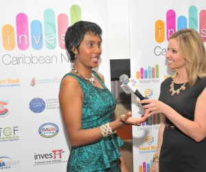 Felicia Persaud at Invest Caribbean Now 2014
