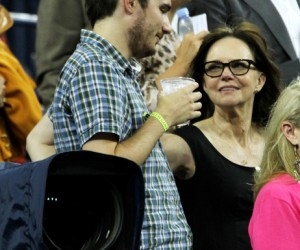 Sally Fields and son Samuel
