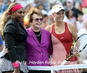 Serena Billie Jean King Wozniacki