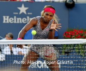 Serena Williams played a fierce game to win the U.S. Open women's finals on Sept. 7, 2014.