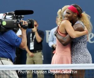 Wozniacki and Serena