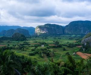 Viñales Valley ('Valle de Viñales''), in Cuba