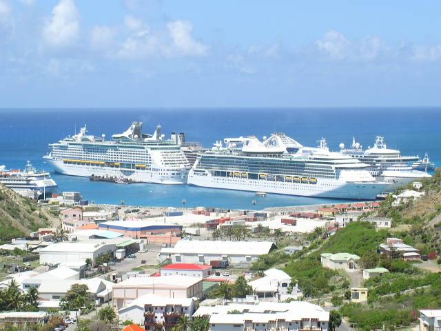 St Maarten Cruise Tourism