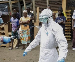 Cuban doctors at forefront of ebola fight in West Africa.