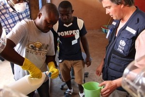 A training programme for health workers on Ebola has been launched by the World Health Organization (WHO) in consultation with the Ministry of Health and with support from USAID.