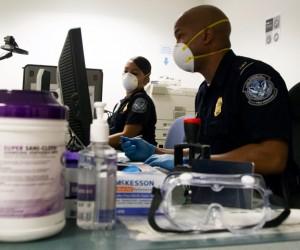 CBP Enhanced Ebola Screening at JFK Airport.