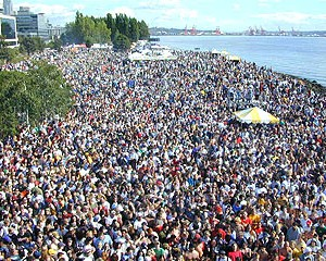 Thousands turn out annually for The Seattle Hemp fest , in Washington state. (edipure.com image)
