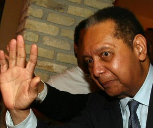 "Former Haitian dictator Jean-Claude ""Baby Doc"" Duvalier"