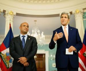 Haiti PM-US-SecretaryofState