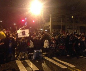 ferguson-protests in Seattle