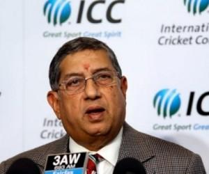 ICC chairman N Srinivasan