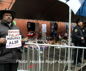 Former Police Officer from Guyana Cliff Joseph Mourns The  NYPD Officers