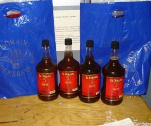 JFK Liquid Cocaine Rum Bottles