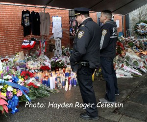 Mourning The NYPD Officers (2)