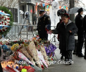 Mourning The NYPD Officers (3)