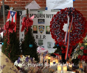 Mourning The NYPD Officers (6)