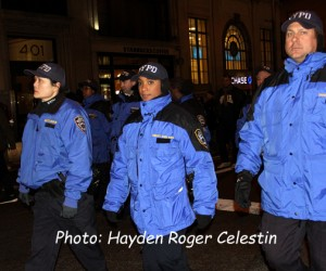 Police walk in NYC Millions March (5)