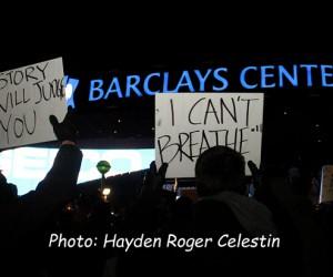 Eric-Garner-Rally-at Barclays Center Brooklyn NY