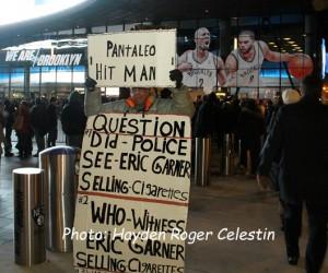 Eric-Garner-Rally at Barclays Center Brooklyn NY