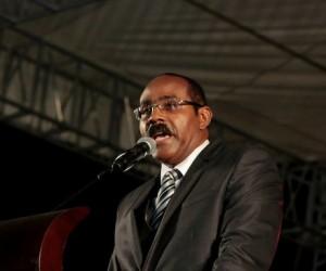 CARICOM Chairman and Prime of Antigua & Barbuda, Gaston Browne