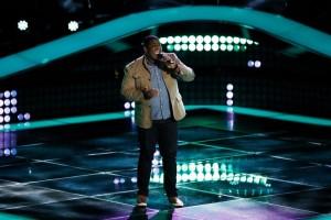 Bahamas National Blaze Johnson Makes 'The Voice' Season 7 Cut. (Photo by: Tyler Golden/NBC)