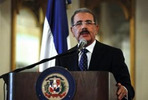 Danilo Medina, the President of the Dominican Republic