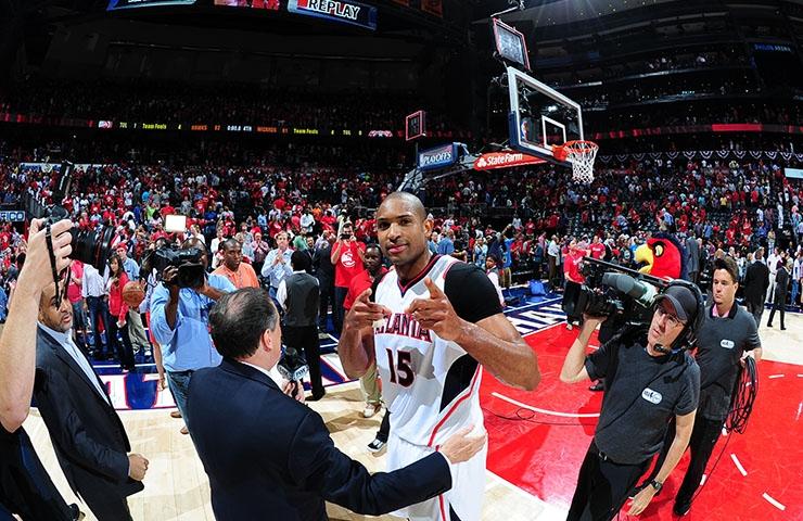 Dominican Republic-born NBA basketball star, Al Horford