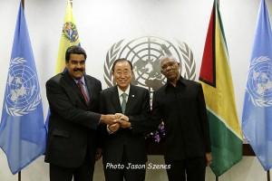 Veneuzela-Guyana-President-meet-at-UN