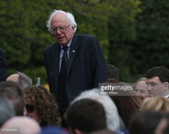 Sen-Bernie-Sanders and Presidential hopeful